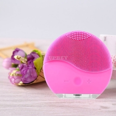 Facial Cleansing JMY04 Electric Vibration Brush Skin Pore Cleanser Waterproof Silicone Face Massager Remove Blackhead