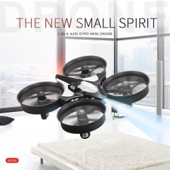 JJRC H36 Mini Drone 360 Quadcopter Gyro 2.4GHz Radio Control Flip 6-axis Degree One Key Return Led & Remote
