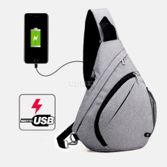 Backpack FL1716 Sport Smart Bag Casual Waterproof for Laptop Men Women Travel School With USB Charging Anti theft Backpack