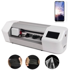 Plotter Machine Laser Cutting Screen Protector Guard Film Nano TPU Automatic Attach Plastic Cutter Bluetooth for Smartphone Mobile Phone