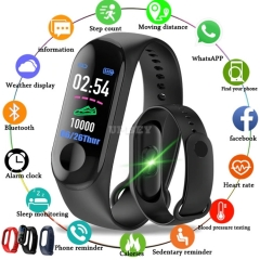 SmartWatch M3 Plus Sport Fitness Wristband Tracker Bracelet Band Heart Rate