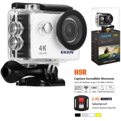 "EKEN H9R 4K Sport Action Camera WiFi 2.0"" 170D Underwater Waterproof Helmet Video Recording Ultra HD 4K / 30fps"