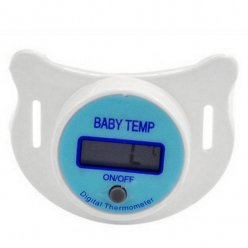 Creative Baby LCD Digital Mouth Nipple Thermometer Pacifier Health Monitor