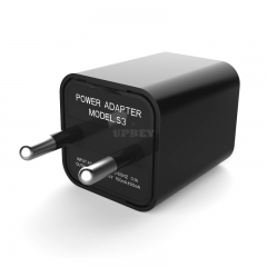 1080P HD USB Wall Charger Mini Camera Security Camera AC Adapter (with Card Reader) European regulations