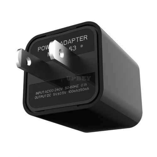 1080P HD USB Wall Charger Mini Camera Security Camera AC Adapter (with Card Reader) U.S. regulations