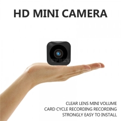 HD Mini WiFi Camera - 720P, Infrared Night Vision, APP, Motion Detect, Support Micro SD, Magnetic Mounting