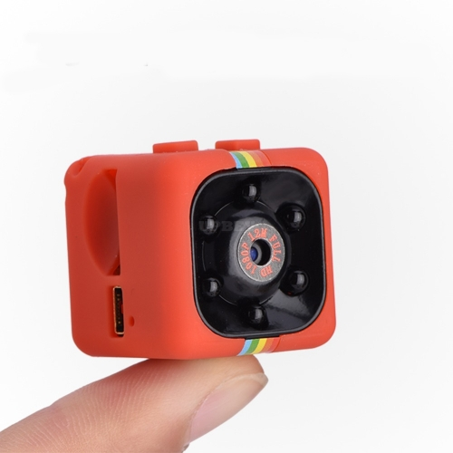 SQ11 Mini Camera 1080P HD Night Vision Sports Camcorder Mini DV DVR Video Recorder Red