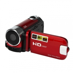 Red HD 1080P 16M 16X Digital Zoom Video Camcorder TPT LCD Camera DV Home Camera US Plug