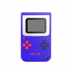 Game Console Q2 Handheld Game Host Built-in 268 Games 8 Bit Children's Game console Blue