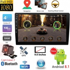 9 inch / 10.1 inch 2DIN Android Car Multimedia Player GPS Autoradio Bluetooth WIFI Car Stereo Radio MirrorLink 2Din Car Audio Radio Camera