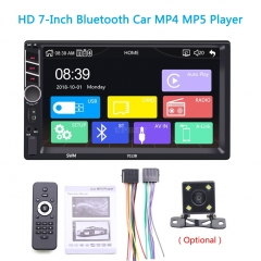 7013B_Carplay 7 Inches Hd Car Video MP4/MP5 Car MP3 Plug-in Card Usb Flash Drive Radio With camera