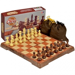 Full Sized Large Magnetic Chess Set - 9.5`
