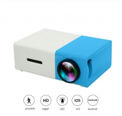 YG300 Pico Projector 3.5mm Audio 320x240 Pixels HDMI USB Mini Projector Home Media Player