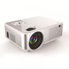 C9 1280*720P Support 4K Videos Via HDMI Home Cinema Movie LED Video Projector Silver white