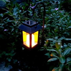 Garden view lamp-15 Lumen, IP44 Rating, 600mAh Battery, Candle Effect, Intelligent Light Control, Amorphous Silicon Solar Panel