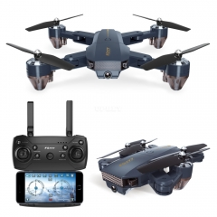 FQ777 FQ35 WiFi FPV with 720P HD Camera Altitude Hold Mode Foldable RC Drone Quadcopter RTF - 0.3MP with Battery  2 million WIFi