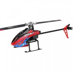 XK K130 2.4G 6CH Brushless 3D6G System Flybarless RC Helicopter BNF Compatible with FUTABA S-FHSS  Without remote control 1 battery