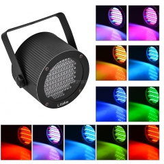 LEDS Color Mixing Stage Light UFO Lamp Laser Projector US Plug-Black