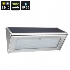 Outdoor LED Solar Light - 48 LED Lights, 800 Lumen, Solar Panel, 3000mAh, 4 Lighting Modes, IP65 Waterproof, 6W