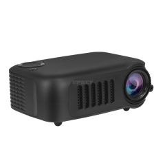 A2000 Mini Portable Digital Projector Home Use 720P High Definition Projector black