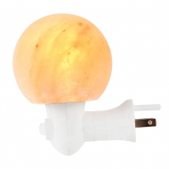 YRLED 15W Mini Salt Lamp Natural Crystal Night Light