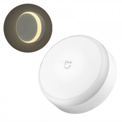 Xiaomi Night Light - IR Sensor, Photosensitive, 7m Motion Detection, 120-Degree Sensor, Different Light Modes, 3x AA Battery