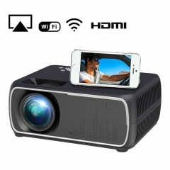 A20 Mini Projector HD 1080P TV Projector Home Cinema Projector  Same screen black