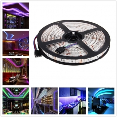 5M 5050 RGB Waterproof 500CM Flexible Strip 300 LED Light wedding Plug EU AU US UK