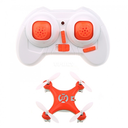 Cheerson CX-10 CX10 Mini 2.4G 4CH 6 Axis LED RC Quadcopter RTF yellow