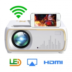 A20 Mini Projector HD 1080P TV Projector Home Cinema Projector  Same screen white