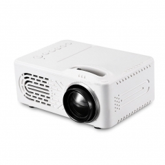Mini Home LED Theater Projectors Multimedia Video Projector white