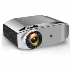 Mini Digital Projector 1080P High Definition LED Home Business Office Projector Portable Space gray