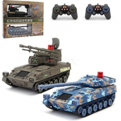 RC War Car Army Vehicle Main Battle Remote Control Car Electronic Gifts for Boys tank