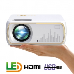 A20 Mini Projector HD 1080P TV Projector Home Cinema Projector  Basic white
