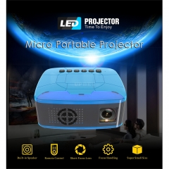 Pocket Mini LED Projector Video Game Projector Beamer Home Theater Projector