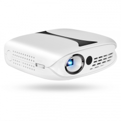 RD606 Home LED Mini Projector DLP Portable Projector for Mobile Phone white