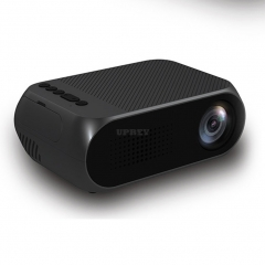 Mini Projector Home Theater Cinema TV Portable LED Projector 1080P HDMI/USB/SD/AV Projector Black