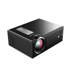 C8 Portable Android Video Projector 1280*720P Native Resolution With WIFI Bluetooth Home Cinema Movie Beamer black