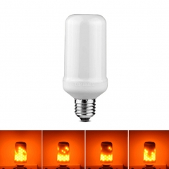 Creative Simulate Christmas LED Flame Bulb Touch Lamp Illumination Decoration Light for Halloween Party Festival - E27