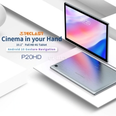 "Teclast P20HD 10.1"" Android 10 Tablet 1920x1200 SC9863A Octa Core 4GB RAM 64GB ROM 4G Network AI Speed-up PC Dual Wifi"